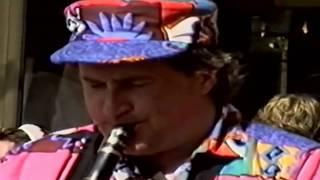 Daniel Huck on clarinet