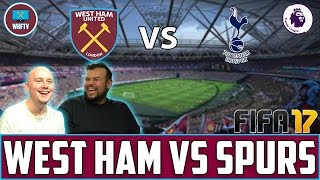 West Ham vs Tottenham | Fifa 17 Match Prediction