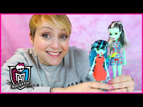 Monster High Frankie and Alivia Stein Dolls Review