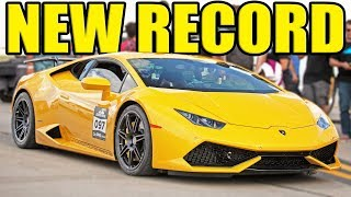 The FASTEST Half Mile Car in the WORLD - UGR Lambo!