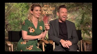 CHRISTOPHER ROBIN Interviews: Ewan McGregor, Hayley Atwell, Marc Forster