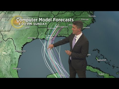 Tracking Tropical Storm Nate