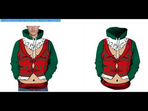 Christmas cosplay costume hoodies
