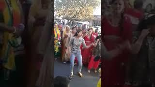 Hariyanvi dance by student girl