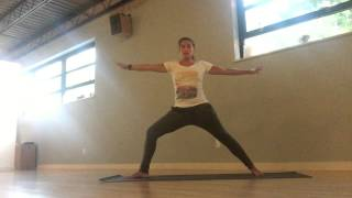 How to Yoga - Warrior II, Reverse Warrior & Extended Side Angle - energize the whole body!