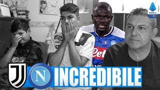 😭 INCREDIBILE... JUVENTUS-NAPOLI 4-3 | LIVE REACTION NAPOLETANI