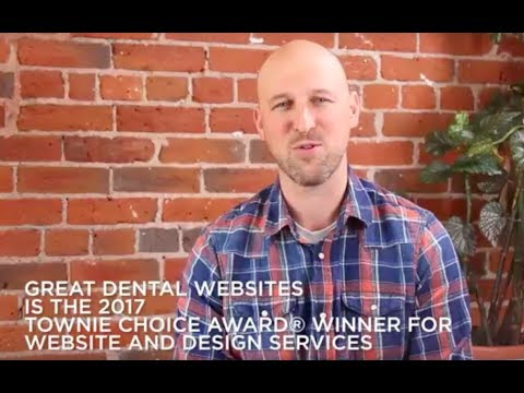 Great Dental Websites Is The Winner Of The 2017 Townie Choice Award® For Website Design And Services