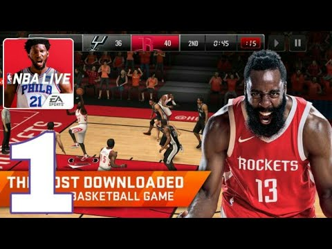 NBA Live Mobile 2019 - Gameplay Part #1 (android;IOS)