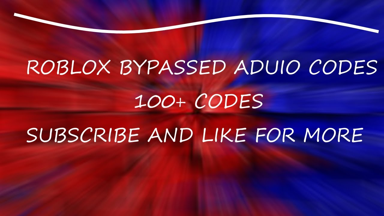 Roblox bypassed audios november 2018 roblox redeem code