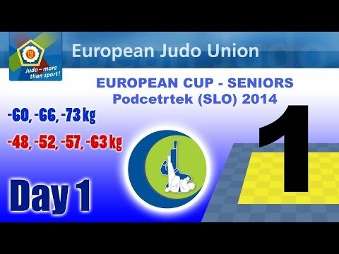 European Cup Seniors - Podcetrtek (SLO) 2014 - Day 1