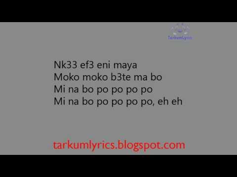 EL -  Mi Na Bo Po lyric video