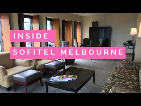 Inside A Prestige Suite At The Sofitel Melbourne
