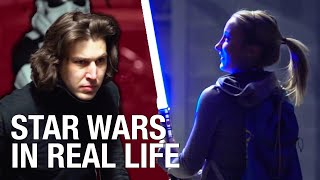 Repeat youtube video Star Wars Battle Prank