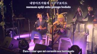 「Holding the end of this night」Hwang ChiYeul + leeSA [Sub Español│Hangul│Romangul]