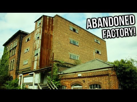 EXPLORING A HUGE ABANDONED FACTORY!