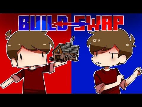NPC GRIAN DOES MINECRAFT BUILD SWAP!