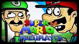 Das SPIEL zerstört FREUNDSCHAFTEN  Mario 64 Multiplayer