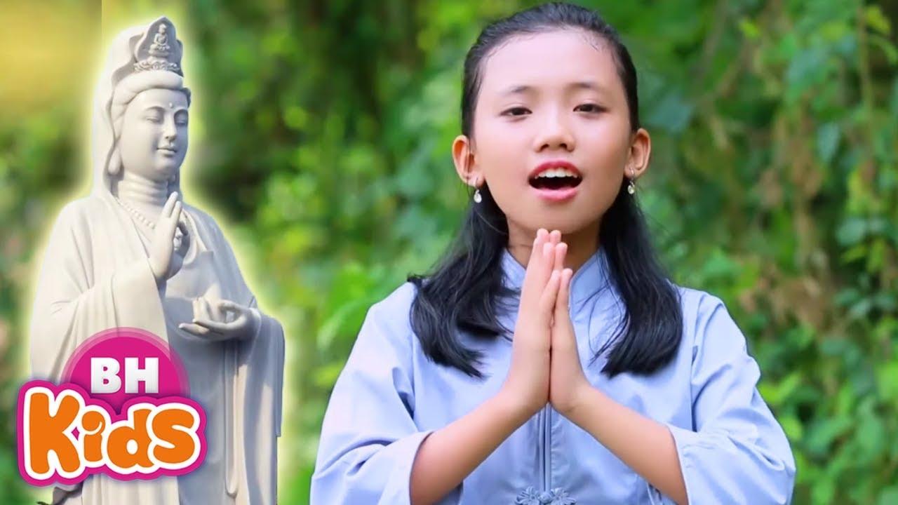 Hát nhạc Phật hay hơn bé Tú Thanh khiến triệu người ngưỡng mộ - Bé Phương Anh