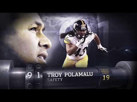 #91: Troy Polamalu (S, Steelers)   Top 100 Players of 2013   NFL
