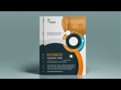 Professional A4 Flyer Design - Photoshop Tutorial
