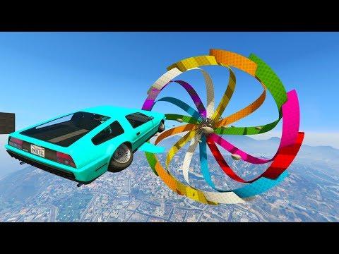 ACROBACIA SUPER IMPOSIBLE! - CARRERA GTA V ONLINE - GTA 5 ONLINE