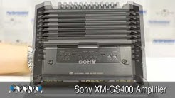 Sony XM-GS400 Amplifier Review