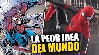 ¡HORROR! Casi ARRUINAN a Spider-Man, tenían pensado convertirlo en un MONSTRUO