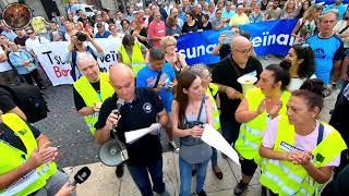 #Manifestación #Barcelonanofunciona #Tsunamivecinal