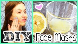 2 DIY Face Masks || for GLOWING Skin!