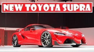 New Toyota Supra, With BMW-co-developed Will Hit The Market In 2018