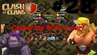 Clankrieg's Action pur! - Let's Play Clash of Clans [#028] (german/deutsch) [HD+]