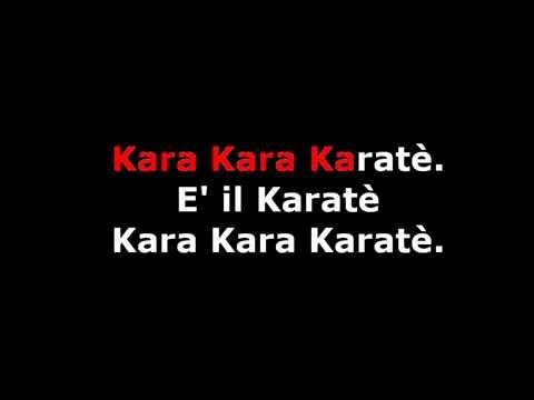 Il Karatè - Karaoke - Zecchino D'oro 1971 - proposto da Heijo Shin Dojo