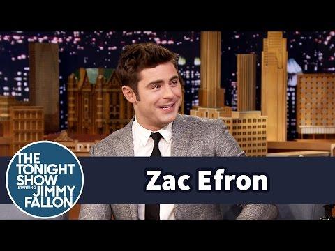 Zac Efron Swam with a Wild Tiger Shark