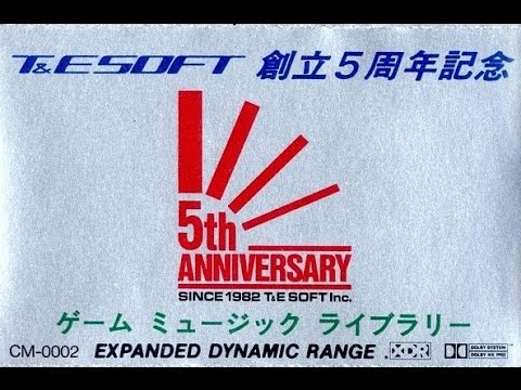 T&E SOFT 創立5周年記念ゲームミ...