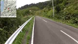 【自転車旅行】2012/09/13(木) part1 脇野沢YH~流汗台