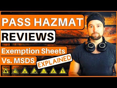 Pass The Amazon Hazmat Program | MSDS Vs Amazon Hazmat Exemption Sheet | Amazon Hazmat Approval