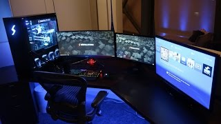 gaming room tour