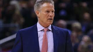 Brett Brown talks play of Sixers young stars, preparing to reach the postseason, and more