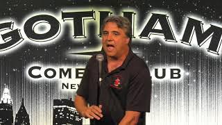 Comedian John Larocchia at Gotham Comedy Club