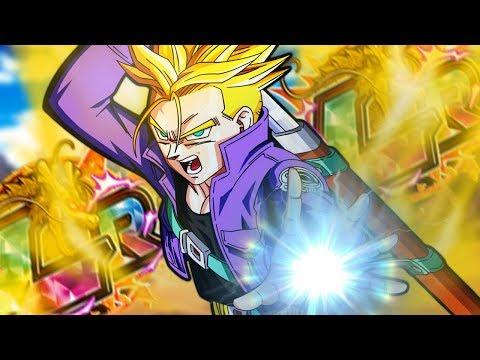 300+ DRAGON STONES! LR SUPER SAIYAN TRUNKS MULTISUMMONS! Dragon Ball Z Dokkan Battle