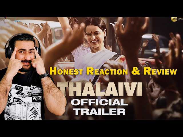 Pakistani Reacts to Thalaivi Official Trailer | Reaction and Review | IAmFawad