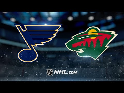 Dumba scores in OT as Wild edge Blues, 2-1