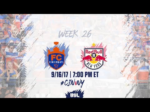 USL LIVE - FC Cincinnati vs New York Red Bulls II 9/16/17