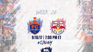 FC Cincinnati vs New York Red Bulls USL full match