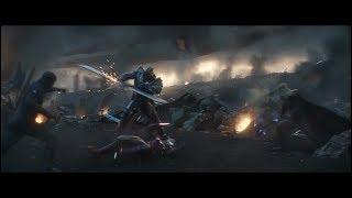 Start of Trinity vs Thanos Battle //