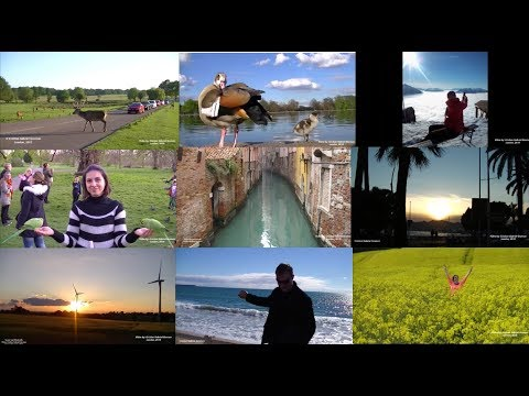 Best Moments Captured on Camera from 5 Countries: Switzerland, Italy, France, Belgium and England.
