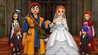 ドラゴンクエスト8 3DS エンディング ゼシカ結婚エンド
