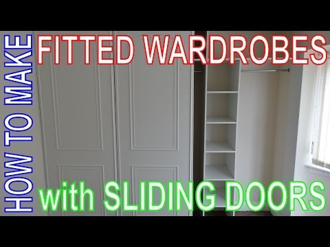 How to make Fitted Wardrobes. Easy DIY Install. Custom Build