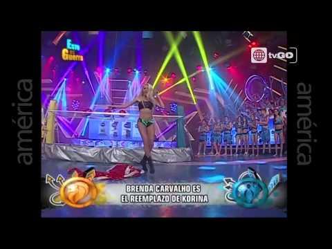 Brenda Carvalho Es La Nueva Integrante De Las Cobras - Esto Es Guerra - 02-07-2015