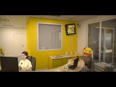 Virtual Tour of Big Yellow Self Storage - YouTube